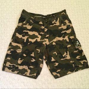 J-America  Alabama Men's Camo Cargo Shorts